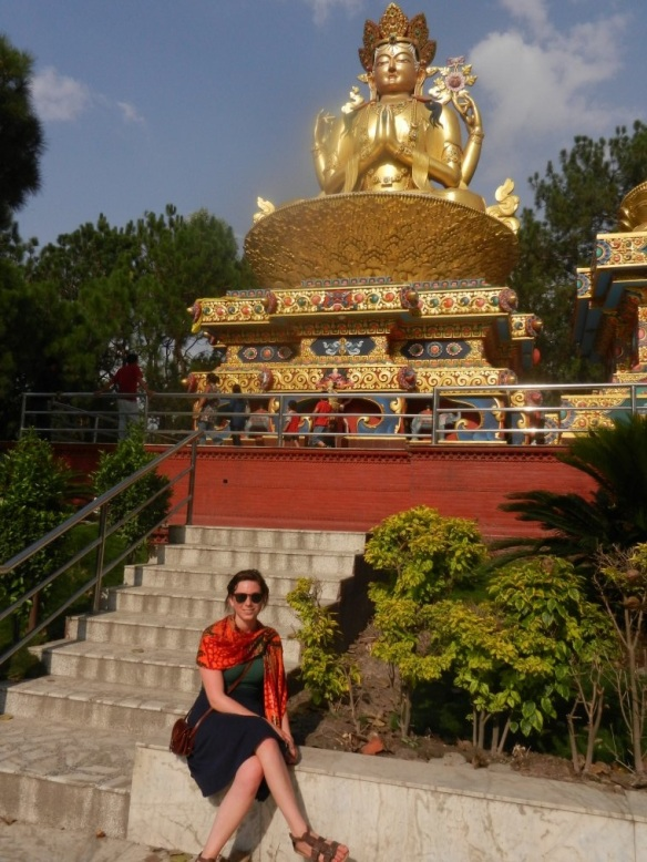 Me and the Om Buddha!